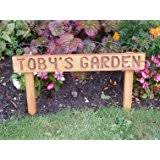 personalised set of family garden stones large and 3 small
