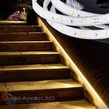 led strip lights for stairs led strip light stairs led lights decor