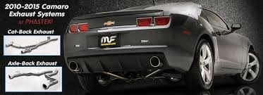 2013 camaro exhaust cat back axle back exhausts for 2010 2013 camaro v6 ls lt engines