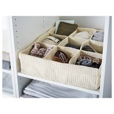 ikea skubb drawer organizer ikea komplement storage with compartments handwoven compartments
