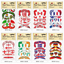 Mexico Flag Tattoo Factory 2018 Russia World Cup Brazil Portugal National Flag Tattoo