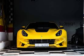 Ferrari F12 Yellow - ferrari f12 novitec n largo by bydesign motorsportstuningcult