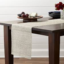 dining room table runner chilewich crepe neutral 72 table runner in table runners