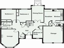 3 bedroom bungalow floor plan lovely 3 bedroom bungalow house plans uk home inspiration