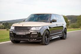 mansory cars mansory put its signature all over this range rover