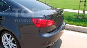 tuned lexus is 250 узкий спойлер крышки багажника carlsson на lexus is 2