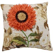Homey Better Homes And Gardens Pillows Blue Floral Decorative