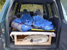 Toyota Rav4 Interior Dimensions Toyota Rav4 By Weekday Camper By Weekend 6 Steps With Pictures