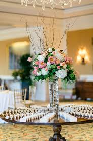 Curly Willow Centerpieces Rose Hydrangea And Curly Willow Arrangement Elizabeth Anne