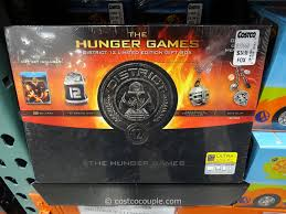 chagne gift set the hunger district 12 limited edition gift set