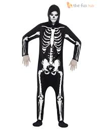 halloween all in one hooded costume mens unisex jumpsuit