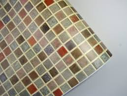 peel and stick vinyl wallpaper amazon com multi color tile mosaic pattern contact paper self