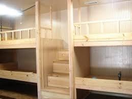 Diy Bunk Beds With Stairs Bunk Beds With Stairs Open Travel