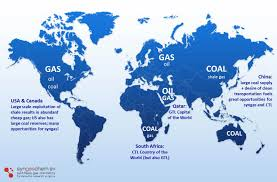 China On The World Map by Vision Syncat Beijing The Synfuels China Laboratory For