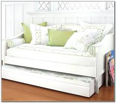 white daybed with pop up trundle coaster fine furniture mission