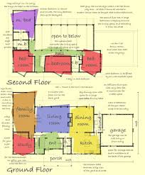 Open Kitchen Family Room Floor Plans Catalog Modern House Plans By Gregory La Vardera Architect