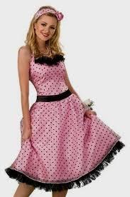 Halloween Costume Polka Dot Dress 50s Pink Polka Dot Dress Naf Dresses