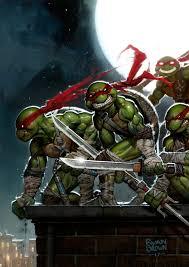 ninja turtle painting ryanbrown colour deviantart