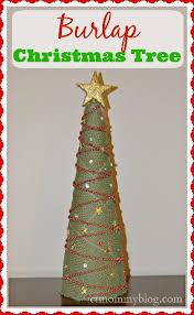 burlap tree ct