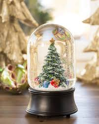christmas snow globes balsam hill