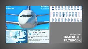avion air transat siege cagne sièges réservés air transat