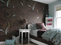 black and white bedroom wallpaper decor ideasdecor ideas cool interior wallpaper design ideas for home decpot dark brown