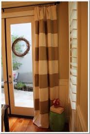 hanging curtains over sliding glass door sliding door curtains for the home pinterest sliding door