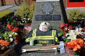 Arizona Firefighters Association by Firefighters Standing Vigil Over Body Of Lynden Fire Chief Who