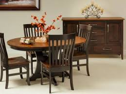 Pedestal Tables And Chairs Single Pedestal Tables Countryside Amish Furniture