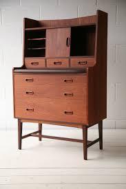 bureau chrome 1960s teak bureau and chrome