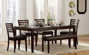 dining room unbelievable dining room table bench seating stylish