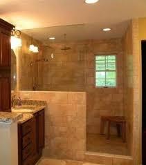 bathroom walk in shower designs best 25 shower no doors ideas on open showers