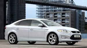 car picker white ford mondeo
