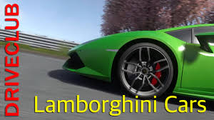 images of all lamborghini cars driveclub test drive of all lamborghini cars