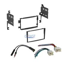 nissan altima 2005 double din 2x speaker wire harness adapter for 82 up nissan altima frontier