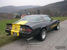 1981 camaro z28 specs 1981 chevrolet camaro z28 car photo and specs