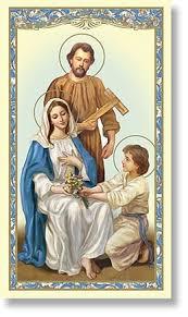 holy family holy card 100 pk