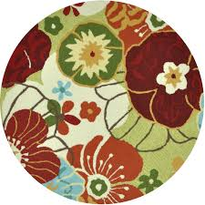 Green Round Rug by Floors U0026 Rugs Green Floral Round Area Rugs For