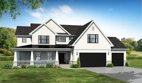 modern farmhouse elevations plainfield illinois homes for sale
