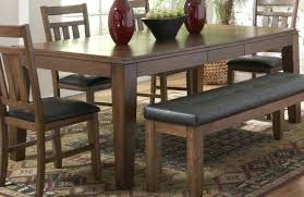 Dining Room Furniture With Bench Dining Room Tables With Bench And Chairs Bench Style Dining Table