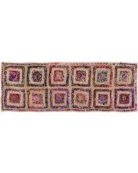 rug runner 2 x 6 new savings on criss cross area rug runner multi 2 x 6