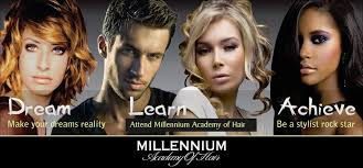 hair stylist classes millennium academy of hair