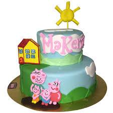 1639 peppa pig birthday cake abc cake shop u0026 bakery
