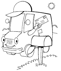 truck coloring pages prinrable coloring pages
