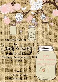 wedding rehearsal dinner ideas jar rehearsal dinner invitation rehearsal dinner invite