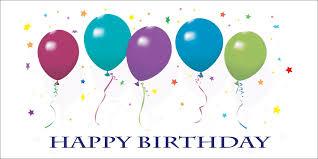 birthday balloons happy birthday balloons card birthday by cardsdirect