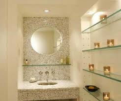luxury small bathroom ideas luxury small bathroom wall storage from glass design ideas home