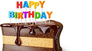 happy birthday chocolaty cake for you cool images free tablet