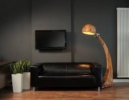 idea accents black accents wall paint of modern living room idea with black