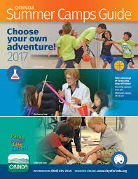 2017 summer camp guide by city of orinda issuu